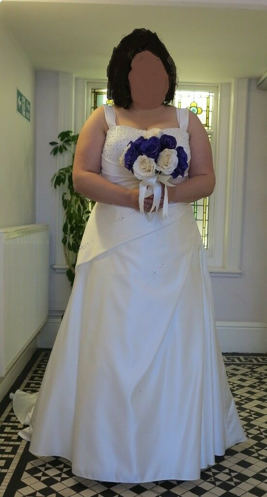 Ivory Wedding Dress By Callista Size 22 24 Dry Cleaned Boxed
