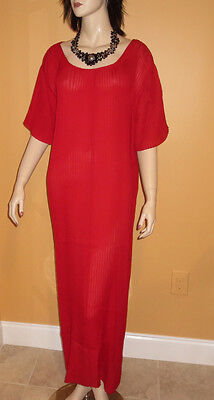 RED AMOUREUSE NIGHTGOWN Lingerie Night Gown LONG MAXI xl 1x 2x 3x 4x PLUS SIZE L