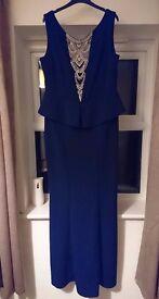 Dark Blue Quiz Ball Gown - Size 16/18