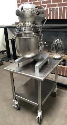 Hobart A200 20 Quart 3 Speed Bakery Dough Food Mixer Cutter On 24 Stand