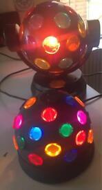 Rotating coloured light