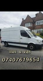 Man & Van services. CHEAP!!Removals/clearances/Waste removals services