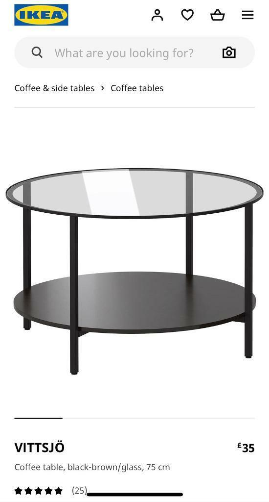 Ikea coffee table in East Staffordshire