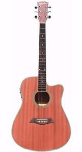 Acoustic Electric Guitar for beginners 41 inch Natural iMusic231 iMusicGuitar