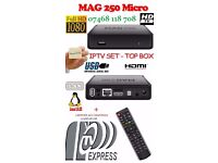 ★WATCH IN HD★MAG HD IPTV BOX BETTER THAN SAT BOXES-NO DISH NEEDED+12 MTHS-SMART TV/MAG/VLC/OPENBOX