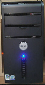 DELL VOSTRO 400 PC COMPUTER. Features built-in Card Readers, WiFi, Windows 10