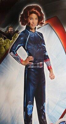 Girls Avengers BLACK WIDOW Assasin Spy Halloween Costume Purim Outfit S M L - Black Spy Kostüm