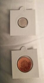 2006 Proof UK Coin Set - 2 Low Denomination Coins - Perfect & Bargain