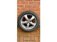 Honda Civic Alloy Mk8 spare with tyre