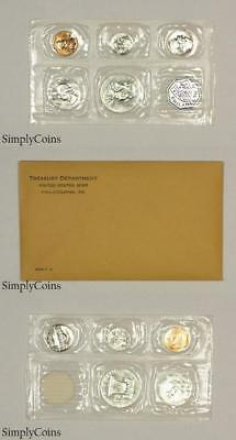 1955 Proof Set ~ Original Envelope ~ US Silver Mint Coin -