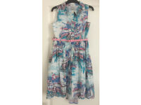Lovely Tu Summer Dress Age 10 Very Good Condition