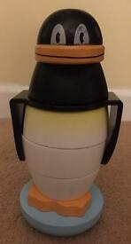 Melissa and Doug Wooden Stacking penguin