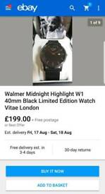 Limited Edition Watch Vitae London