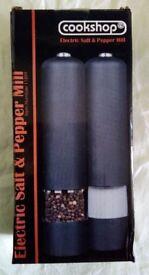 COOKSHOP ELECTRIC SALT & PEPPER MILLS