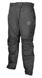 New Stein Ladies Waterproof 405 Motorcycle Trousers - Black