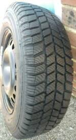 Winter tyres set
