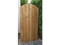 New Tanalised Wooden Garden Gate - 5ft x 2.6ft