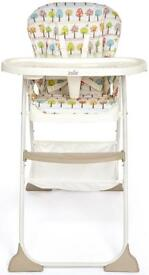 Joie high chair - replacement seat cover