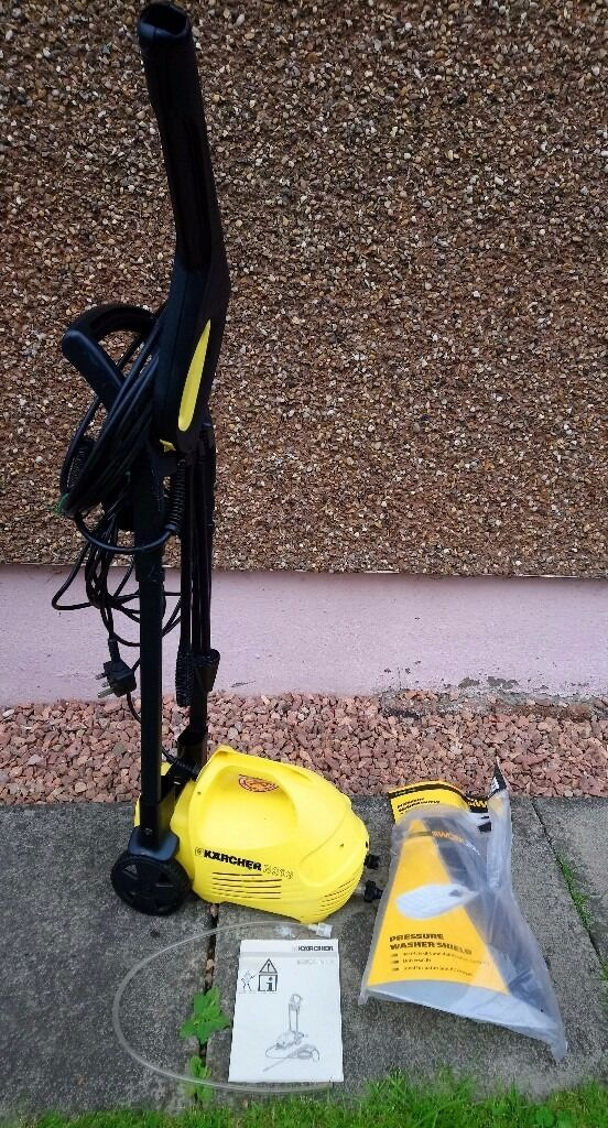 Karcher B202 Plus Power Washer With All Attachments Instruction