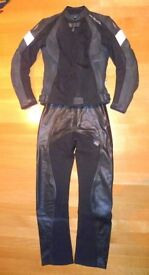 RICHA Ladies 2 piece Leather/Textile. Top - 6/34, Trousers - 8/36. New, prize win after sold bike.
