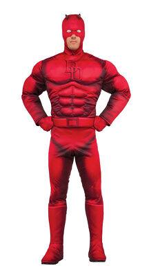 Herren Erwachsene Daredevil Marvel Muskelbrust Kostüm
