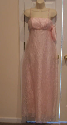 NWT $179 jump PINK bridesmaid prom formal ocassion long gown sizE  XS/SM