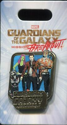 DCA Guardians of The Galaxy Mission: Breakout Characters Disney Pin