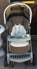 Graco pram and car seat £85
