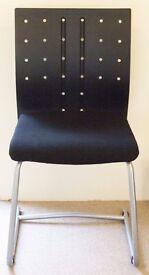 Black Ikea office chair