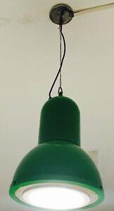 Lampadario-industriale-verde-chandelier-lamp-alogena-039-70-MODERNARIATO-VINTAGE