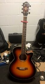 Ibanez Electro Acoustic AEG10GB in Ex Condition with equalizer sounds great