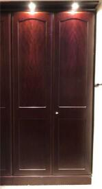 Secondhand Wood wardrobe