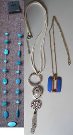 Necklaces, some NEW. 50p - £3