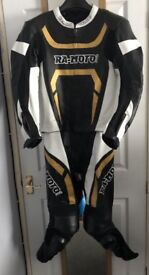 "RA-moto Motorbike Leathers Size 40"" - 42"" Chest and 32"" waist"
