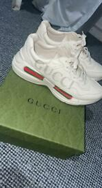Selling my Gucci trainers REAL 100%. Size 12