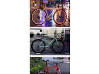SALE GOKU cycles single speed bike fixie fixed gear racing bicycle track bike hx