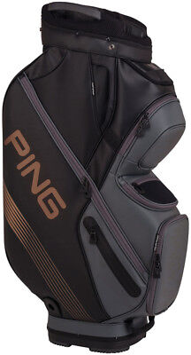 PING DLX Cart Bag Black/Copper