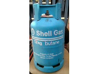 13kg butane gas cylinder SHELL GAS - empty , very good condition