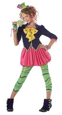 The Mad Hatter Tween Teen Alice in Wonderland Costume Cosplay - Teen Mad Hatter Costume