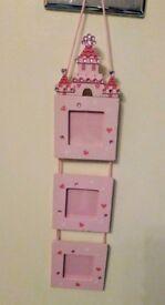 Princess castle photo frame