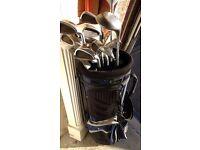 Set of Golf Clubs Desert Classic. King Cobra, Howson. Mizuno bag