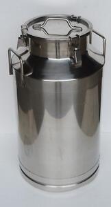15.9 Gallon 60L Stainless Steel Wine&Milk Pail Beer Liquid vessel Home Storage 212010