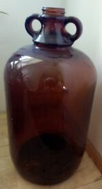 Brown Demijohn