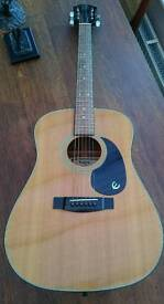 Epiphone by Gibson acoustic guitar