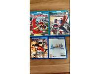 Wii u and vita games