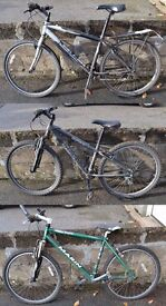 3 x Mountain Bikes - Trek / Gary Fisher / Marin