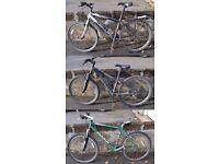 3 x Mountain Bikes - Trek / Gary Fisher / Marin