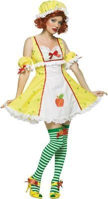 Adult Strawberry Shortcake, Blueberry Muffin, Apple Lemon Merique Costumes (E)