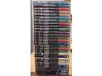 Collection of Agatha Christie's POIROT played by David Suchet. 27 DVDs with 45 separate stories