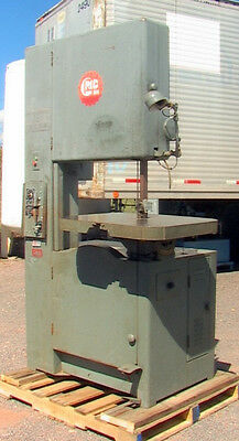 Grob 24 Vertical Band Saw Type Ns24 Metalwood Cutting Speeds 50-2030 Fpm Indus